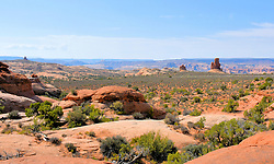 Panorama, Arches National Park, Utah, USA