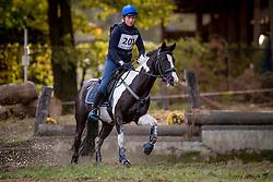 Van Den Weygaert Jonie, BEL, Indiana<br /> LRV Ponie cross - Zoersel 2018<br /> © Hippo Foto - Dirk Caremans<br /> 28/10/2018