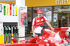 JULY 03 2013 Spanish formula one racing driver Fernando Alonso