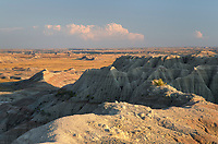 White River Valley Overlook. Badlands National Park South Dakota