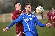 Greenwich Borough's Michael Power   during the Southern Counties East match between AFC Croydon Athletic and Greenwich Borough at the Mayfield Stadium, Croydon, United Kingdom on 12 March 2016. Photo by Martin Cole.