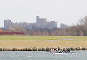 Eton, Great Britain, GV across the course towards Windsor Castle. 2009 Scullery Dorney Lake, Eton Rowing Centre, 09.03.2009 [Mandatory Credit Peter Spurrier] Rowing Courses, Dorney Lake, Eton. ENGLAND