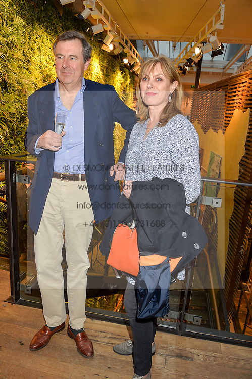The 18th DUKE OF NORFOLK & DUCHESS OF NORFOLK at a party to celebrate the publication of The Naturalista by Xochi Balfour held at Anthropologie, 158 Regent Street, London on 19th April 2016.