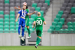 Klauss of HJK Helsinki during 1st Leg football match between NK Olimpija Ljubljana and HJK Helsinki in 3rd Qualifying Round of UEFA Europa League 2018/19, on August 9, 2018 in SRC Stozice, Ljubljana, Slovenia. Photo by Urban Urbanc / Sportida