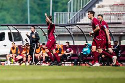 Majcen Luka of NK Triglav during Football match between NK Triglav Kranj and ND Gorica in 30th Round of Prva liga Telekom Slovenije 2018/19, on May 2nd, 2019, in Sports park Kranj, Slovenia. Photo by Grega Valancic / Sportida