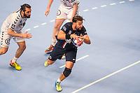 Robert Gunnarsson / Mohamed Mokrani - 14.05.2015 - PSG / Dunkerque - 23eme journee de D1<br /> Photo : Andre Ferreira / Icon Sport