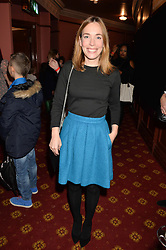 Actress LAURA MAIN at an after show party following the opening of Peter Pan at the New Wimbledon Theatre, 93 The Broadway, London on 8th December 2015.
