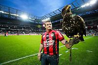 Aigle de Nice - 04.04.2015 - Nice / Evian Thonon - 31eme journee de Ligue 1<br />Photo : Serge Haouzi / Icon Sport