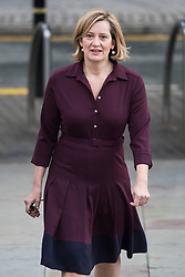 © Licensed to London News Pictures. 04/10/2017. Manchester, UK. Home secretary AMBER RUDD at Conservative Party Conference. The four day event is expected to focus heavily on Brexit, with the British prime minister hoping to dampen rumours of a leadership challenge. Photo credit: Ben Cawthra/LNP