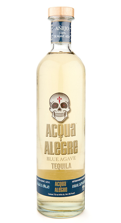 Acqua Alegre Tequila Añejo -- Image originally appeared in the Tequila Matchmaker: http://tequilamatchmaker.com