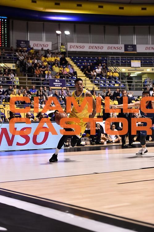 Garrett Diante Maurice<br /> FIAT Torino - Morabanc Andorra La Vella<br /> Eurocup 7Days 2017-2018<br /> Torino 17/10/2017<br /> Foto M.Matta/Ciamillo &amp; Castoria