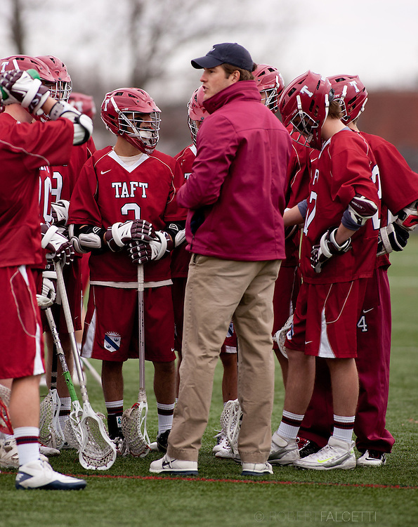 Taft School-April 2013- Boys Varsity Lacrosse. (Photo by Robert Falcetti)