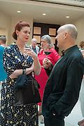 RENEE VAUGHAN SUTHERLAND; ANTONI MALINOWSKI, Tate Summer party. Tate Britian, Millbank. London. 28 May 2012