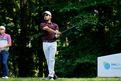 September 2, 2018 - Norton, MA, U.S. - NORTON, MA - SEPTEMBER 02: Abraham Ancer of Mexico during the Third Round of the Dell Technologies Championship on September 2, 2018, at TPC Boston in Norton, Massachusetts. (Photo by Fred Kfoury III/Icon Sportswire) (Credit Image: © Fred Kfoury Iii/Icon SMI via ZUMA Press)