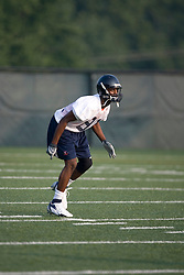 Dontrelle Inman (81)..The 2007 Virginia Cavaliers football team opened fall practice on August 6, 2007 at the University of Virginia football practice fields near the McCue Center in Charlottesville, VA.