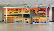 Oklahoma Cooperative Extension Service celebrated 100 years of Extension service. A large display internally called the Spectacular was created By Mike Davis of Ag Communications Services. The display was taken to events state wide to promote Extension and give recognition to the 100 year milestone.