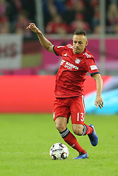 13.01.2019, Merkur Spiel Arena, Duesseldorf, GER, Telekom Cup, FC Bayern Muenchen vs Borussia Moenchengladbach, im Bild Rafinha (Muenchen) mit Ball // during the Telekom Cup Match between FC Bayern Muenchen and Borussia Moenchengladbach at the Merkur Spiel Arena in Duesseldorf, Germany on 2019/01/13. EXPA Pictures © 2019, PhotoCredit: EXPA/ Eibner-Pressefoto/ Mario Hommes<br /> <br /> *****ATTENTION - OUT of GER*****