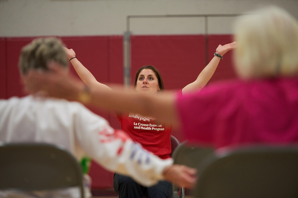 Activity; Community Service; Exercise; Buildings; Recreational Eagle Center Rec; Location; Inside; People; Student Students; Spring; April; Time/Weather; day; Type of Photography; Candid; UWL UW-L UW-La Crosse University of Wisconsin-La Crosse