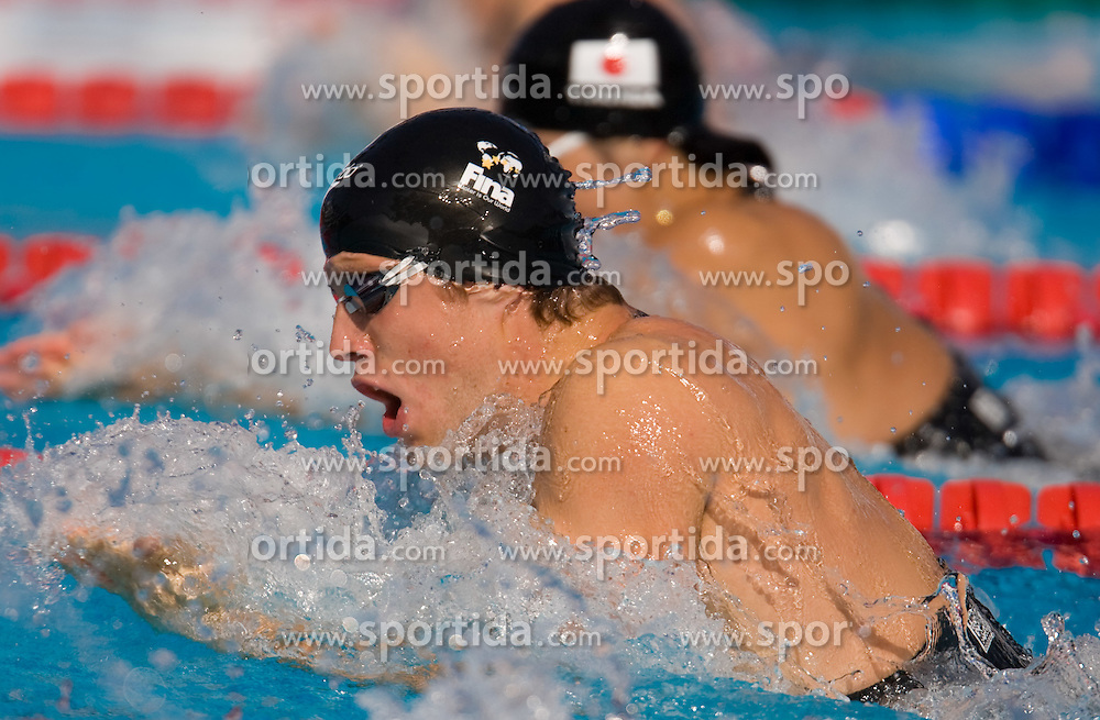 Hendrik Feldwehr of Germany competes in the Men's 50m Breaststroke Heats during the 13th FINA World Championships Roma 2009, on July 28, 2009, at the Stadio del Nuoto,  in Foro Italico, Rome, Italy. (Photo by Vid Ponikvar / Sportida)