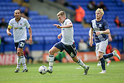 Josh Vela (Bolton Wanderers) runs towards the Preston North End penalty box during the Pre-Season Friendly match between Bolton Wanderers and Preston North End at the Macron Stadium, Bolton, England on 30 July 2016. Photo by Mark P Doherty.