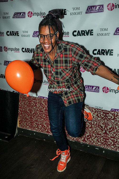 Toya Delazy is a Singer & Song writer from South Africa attend the World AIDS Day Extravaganza at Muse Soho,London,UK one night to help raise money for GMFA – The gay men's health charity and their HIV prevention and stigma-challenging work on 1st December 2016 in Soho,London,UK. Photo by See Li