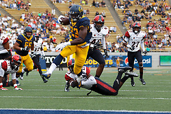 BERKELEY, CA - SEPTEMBER 12:  during the fourth quarter at California Memorial Stadium on September 12, 2015 in Berkeley, California. The California Golden Bears defeated the San Diego State Aztecs 35-7. (Photo by Jason O. Watson/Getty Images) *** Local Caption ***