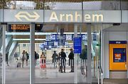 Nederland, Arnhem, 1-9-2015Het vernieuwde centraal station van de NS. Arnhem wordt in de toekomst een knooppunt voor het treinverkeer. Foto: Flip Franssen/Hollandse Hoogte
