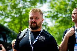 Tomas Francis of Exeter Chiefs arrives at Twickenham Stadium prior to kick off - Mandatory by-line: Ryan Hiscott/JMP - 01/06/2019 - RUGBY - Twickenham Stadium - London, England - Exeter Chiefs v Saracens - Gallagher Premiership Rugby Final