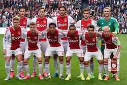 17-09-2015 NED: UEFA Europa League AFC Ajax - Celtic FC, Amsterdam<br /> Ajax heeft in zijn eerste duel in de Europa League thuis moeizaam met 2-2 gelijkgespeeld tegen Celtic / Teamfoto Ajax