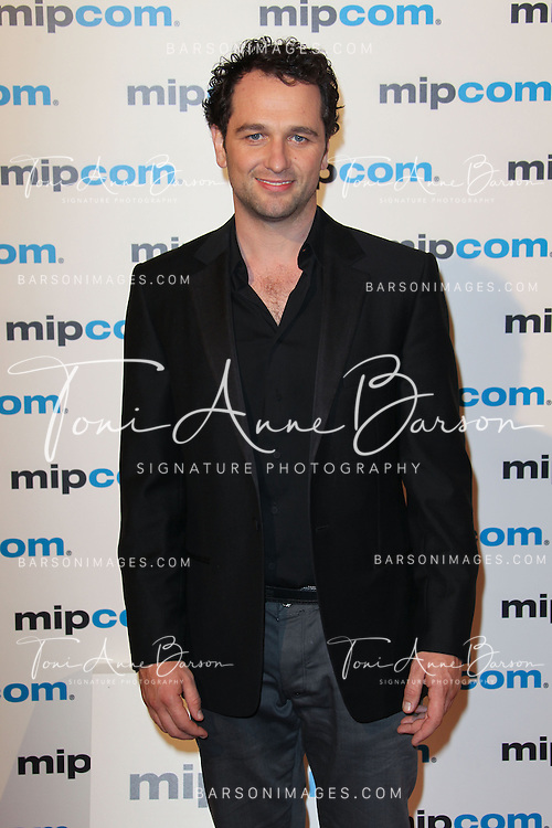 CANNES, FRANCE - OCTOBER 08:  Matthew Rhys attends MIPCOM 2012 Opening Party as part of MIPCOM 2012 at Hotel Martinez on October 8, 2012 in Cannes, France.  (Photo by Tony Barson/WireImage)