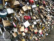Paris, Pont des Arts, France