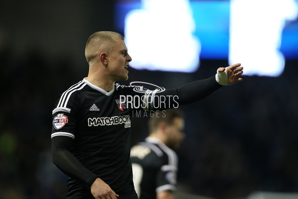Brentford defender Jake Bidwell during the Sky Bet Championship match between Brighton and Hove Albion and Brentford at the American Express Community Stadium, Brighton and Hove, England on 5 February 2016.
