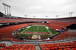 Jan 22, 2012; San Francisco, CA, USA; A general view before the 2011 NFC Championship game between the San Francisco 49ers and the New York Giants at Candlestick Park.  Mandatory Credit: Jason O. Watson-US PRESSWIRE
