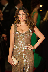 Kelly Brook attends the Royal World Premiere of 'Skyfall' at Royal Albert Hall, London, England, October 23, 2012. Photo by Ki Price / i-Images...Outside UK Only
