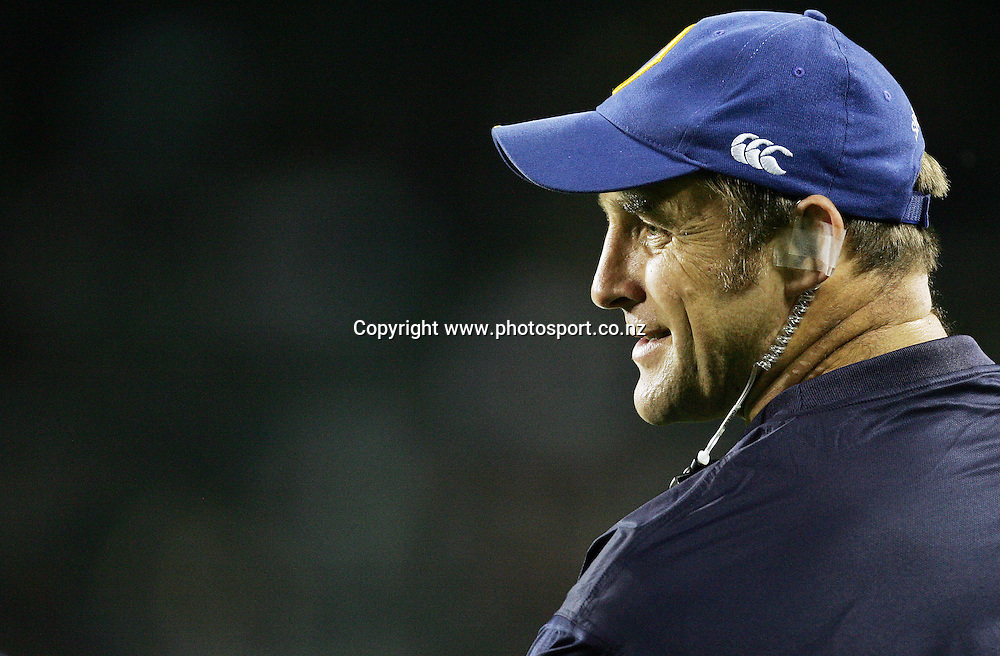 Otago trainer Brendon Timmins during the Air NZ Cup week 9 rugby match between Auckland and Otago at Eden Park, Auckland, New Zealand on Saturday 23 September, 2006. Auckland won the match 48-7. Photo: Hannah Johnston/PHOTOSPORT<br />