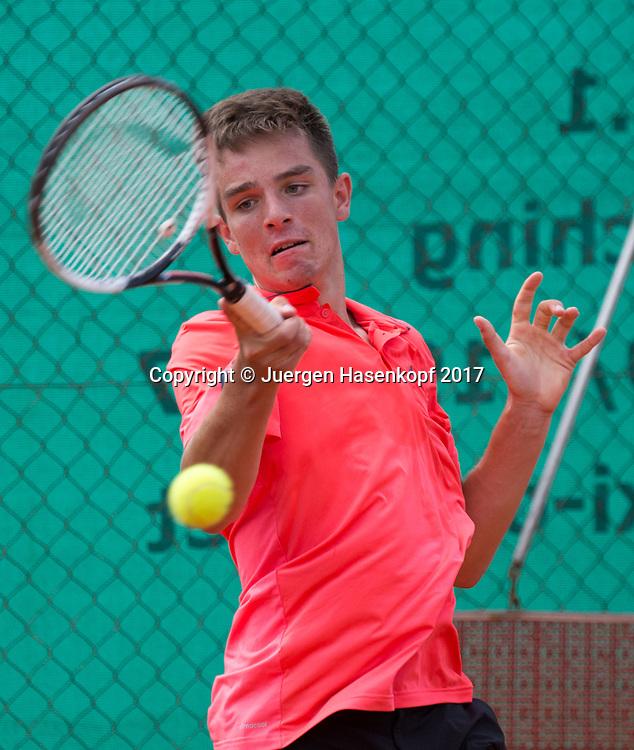 TIM HOFMANN(GER), Bavarian Junior Open 2017, Tennis Europe Junior Tour, BS 16<br /> <br /> Tennis - Bavarian Junior Open 2017 - Tennis Europe Junior Tour -  SC Eching - Eching - Bayern - Germany  - 8 August 2017. <br /> &copy; Juergen Hasenkopf