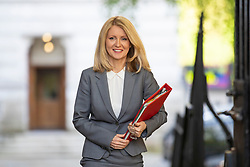 © Licensed to London News Pictures. 08/05/2018. London, UK. Secretary of State for Work and Pensions Esther McVey arrives on Downing Street for the Cabinet meeting. Photo credit: Rob Pinney/LNP