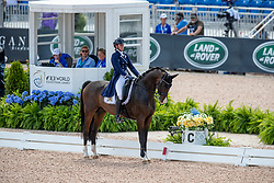 Roos Laurence, BEL, Fil Rouge<br /> World Equestrian Games - Tryon 2018<br /> © Hippo Foto - Dirk Caremans<br /> 13/09/18