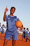 No 04- Mandinda Lufano Lucie..Khubvi girls football club. Khubivi Village. Nr Thohoyandou. Venda. Limpopo Province. South Africa. .Action Aid..Pictures by Zute & Demelza Lightfoot. www.lightfootphoto.com zutelightfoot@yahoo.co.uk +27(0)715957308...