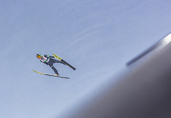 02.03.2019, Seefeld, AUT, FIS Weltmeisterschaften Ski Nordisch, Seefeld 2019, Skisprung, Mixed Team Bewerb, im Bild Ziga Jelar (SLO) // Ziga Jelar of Slovenia during the mixed team competition in ski jumping of nordic combination of FIS Nordic Ski World Championships 2019. Seefeld, Austria on 2019/03/02. EXPA Pictures © 2019, PhotoCredit: EXPA/ Stefanie Oberhauser