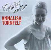 """Annalisa Tornfelt, """"Search Zero"""" album cover photo."""