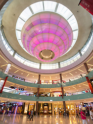 The Dubai Mall in Dubai United Arab Emirates
