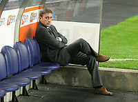 20091106: Paulo Bento resigns as Sporting Lisbon coach, after five seasons leading the Lisboa 'Lions'. ***FILE PHOTO*** 20051202: PORTO, PORTUGAL - Sporting and Porto drew 1-1 in a game that started well for Sporting, scoring the first goal. The home team was able to equalize and looked in vain for the winning goal. <br /> In Picture Paulo Bento (Sporting Coach).<br /> PHOTO: Manuel Azevedo/CITYFILES