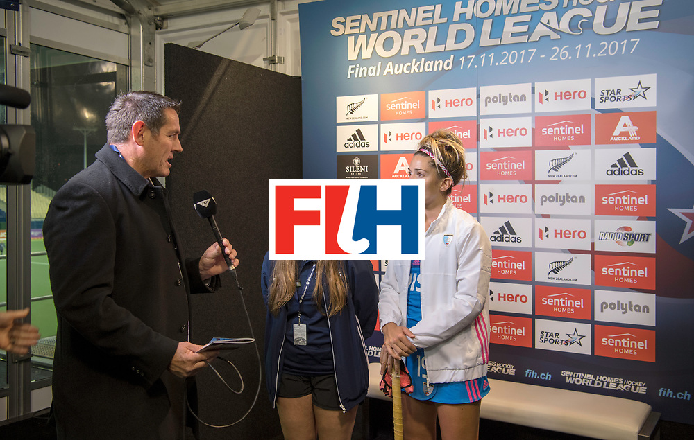 AUCKLAND - Sentinel Hockey World League final women<br /> World Cup<br /> Foto: I-zone