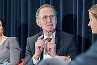 13 SEP 2018, BERLIN/GERMANY:<br /> Prof. Dr. Dr. h.c. Bert Ruerup, Praesident Handelsblatt Research Institute, Jahreskonferenz SPD Wirtschaftsforum, Maritim proArte Hotel<br /> IMAGE: 20180913-02-238<br /> KEYWORDS: Bert R&uuml;rup