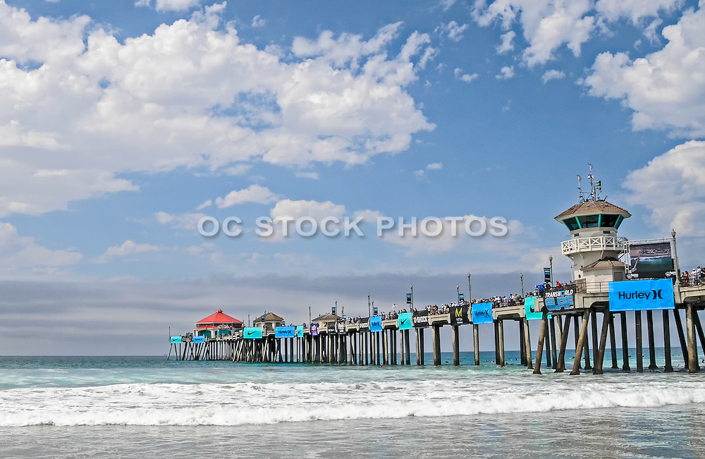 Huntington Beach Pier During the Hurley US Open