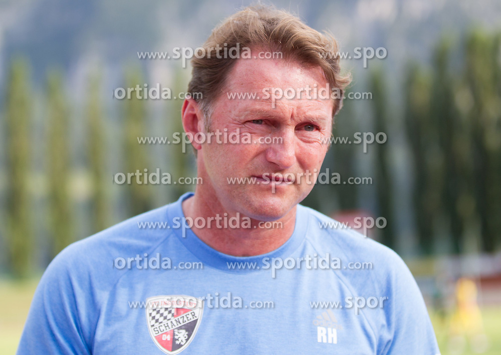 18.07.2015, Dolomitenstadion, Lienz, AUT, Testspiel, Arminia Bielefeld vs Udinese Calcio, im Bild Trainer Ralph Hasenhuettl (FC Ingolstadt) // during a International Friendly Football Match between Arminia Bielefeld and Udinese Calcio at the Dolomitenstadion in Lienz, Austria on 2015/07/18. EXPA Pictures © 2015, PhotoCredit: EXPA/ Johann Groder