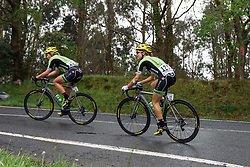 Despite a heavy crash on stage three, Kristabel Doebel-Hickok is still racing - Emakumeen Bira 2016 Stage 4 - A 76 km road stage starting and finishing in Portugalete, Spain on 17th April 2016.