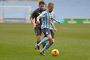 Coventry City Midfielder Joe Cole during the Sky Bet League 1 match between Coventry City and Bury at the Ricoh Arena, Coventry, England on 13 February 2016. Photo by Dennis Goodwin.