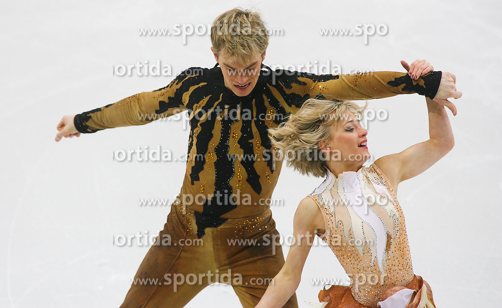 24.01.2011, Postfinance Arena, Bern, Eiskunstlauf EM 2011, im Bild Paar  Eistanz Qualifikation  Penny Coomes / Nicholas Buckland (GBR).// during the European Figure Skating Championships 2011, in Bern, Switzerland, EXPA Pictures © 2011, PhotoCredit: EXPA/ EXPA/ Newspix/ Manuel Geisser +++++ ATTENTION - FOR AUSTRIA/ AUT, SLOVENIA/ SLO, SERBIA/ SRB an CROATIA/ CRO, SWISS/ SUI and SWEDEN/ SWE CLIENT ONLY +++++